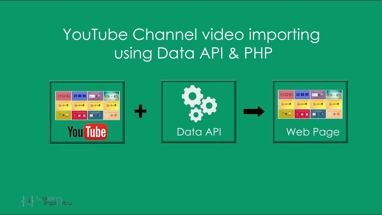 How to get your youtube api key youtube importer - Youtube Channel Video Importing Using Data Api Php Learn Infinity