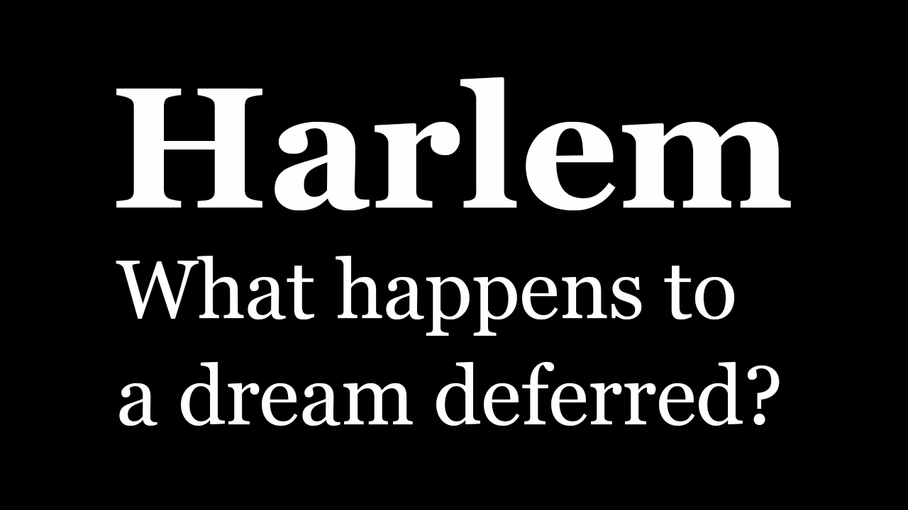 Langston Hughes Quote     What happens to a dream deferred  Does it dry up