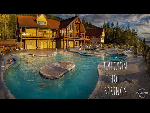 HALCYON HOT SPRINGS VLOG #69