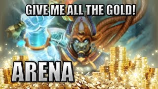 "Osiris Bruiser Build ""I AM A GOLD HOARDER!"" - Arena, SMITE Season 3"