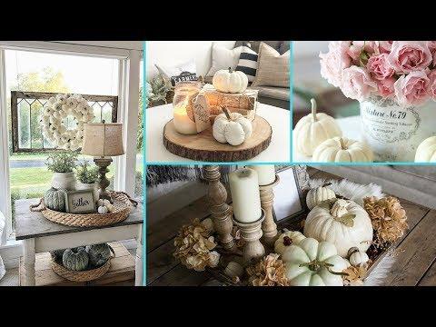 ❤ DIY Shabby Chic Style Fall Coffee Table decor Ideas ❤ | Home decor Ideas | Flamingo Mango
