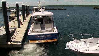 Hunt Harrier 36 IPS Boat Review / Performance Test