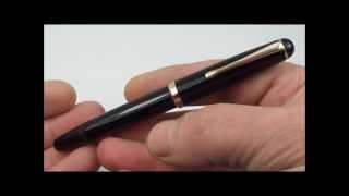 Montblanc 342 Piston Fountain Pen Review