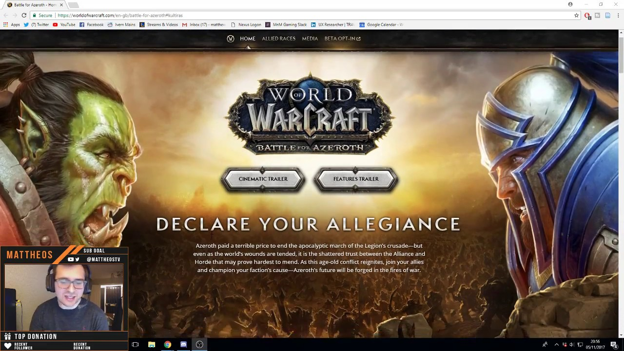 Overview of World of Warcraft: Battle For Azeroth Expansion - THE HYPE IS  REAL!