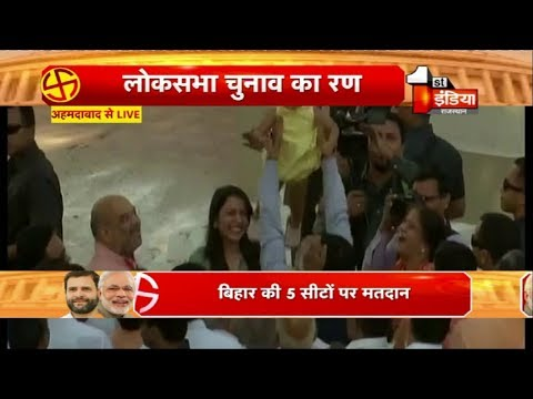 When PM Modi tossed Amit Shah's grand-daughter in air