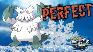 Abomasnow Action Perfect place for him Pokemon Duel