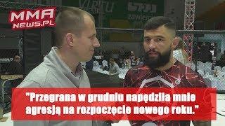 """Przemysław Fajer: """"Przegrana w grudniu napędziła mnie agresją na rozpoczęcie nowego roku."""""""