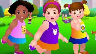 Repeat youtube video Cabeza, Hombros, Rodillas y Pies - Canción de Ejercicios Para Niños | ChuChu TV