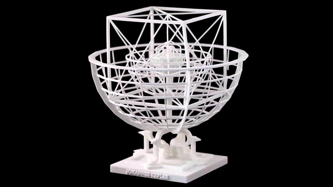 Kepler's Platonic Solids Model of the Solar System - YouTube