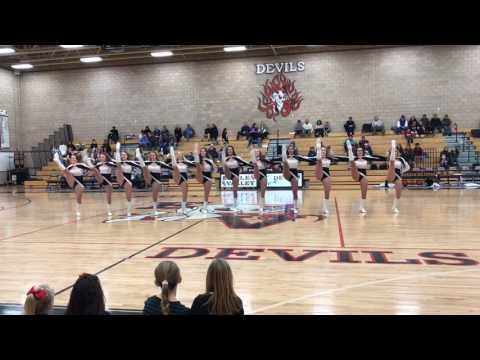 Eagle Valley High School Devil Dancers 1/17/17