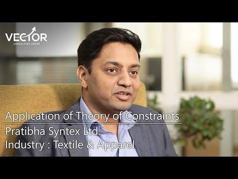 Pratibha Syntex Ltd : Transforming textile & garment manufacturing business using TOC