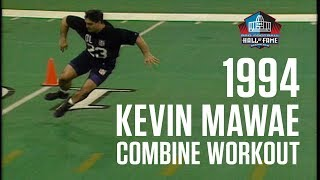 Kevin Mawae Combine Workout | Seahawks Vault