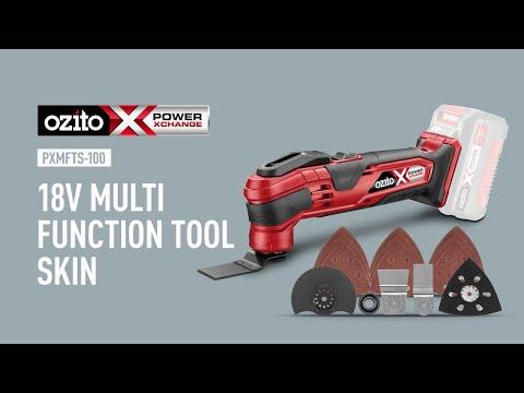 Ozito Power X Change 18V Multi Function Tool - Product Video