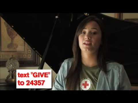 Demi Lovato - American Red Cross - PSA 1 Thumbnail image