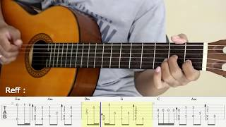 Download Bangun Cinta - 3 Composers - Fingerstyle Guitar Cover - Tutorial TAB. Mp3