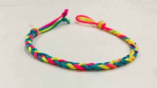 How to make friendship band at home | Diy Friendship Bracelet | Easy friendship band