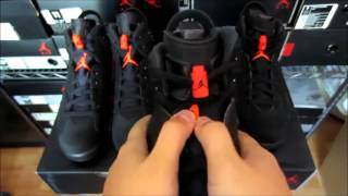 air jordan 6 black infrared authentic vs fake