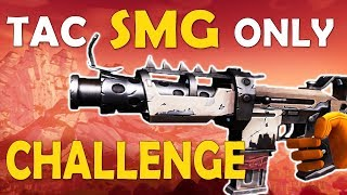 TAC SMG ONLY CHALLENGE | PRO GAMEPLAY | TURBO BUILDING THOUGHTS - (Fortnite Battle Royale)