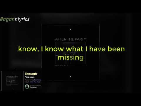 Fornicras - Enough /Lyrics #BassMixtaped indir
