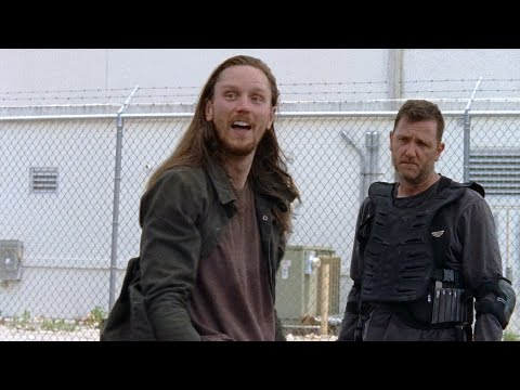 TWD S7E2 - Richard And Jared Fight