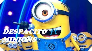 despacito ft minions video song with lyrics despicable me 3