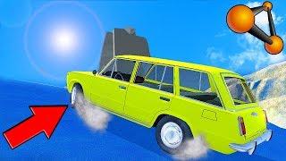 СМОЖЕТ ЛИ МАШИНА ЗАЕХАТЬ НА ГОРКУ ПОКРЫТУЮ ЛЬДОМ!? - BEAMNG DRIVE | ЭКСПЕРИМЕНТ В BEAMNG DRIVE