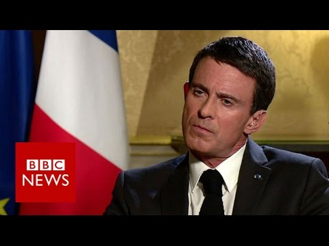 France's Valls 'permanently marked' by Paris attacks - BBC News