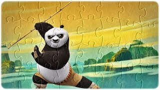 Kung Fu Panda 3 Puzzle Games, Funny Puzzle Movie Game for Kids