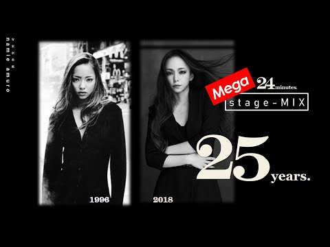 【MEGA 24 - MINUTES (stage-MIX)】 | namie amuro 安室奈美恵 |  (10k Subs special!)