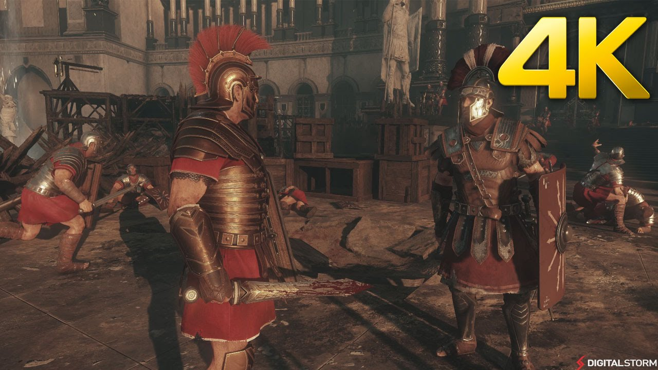 Ryse: Son Of Rome 4K Ultra Gameplay On PC