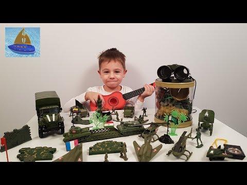 Игровой набор Солдатики Игрушечные сражения   История дружбы или Военные машинки для детей