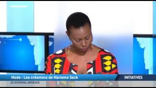 TV5MONDE : Marieme Seck, porte-voix de la mode sénégalaise