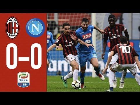 Highlights AC Milan 0-0 Napoli - Serie A 2017/18