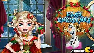 Disney Frozen Elsa Christmas Real Haircuts - Disney Frozen Chrismas Games