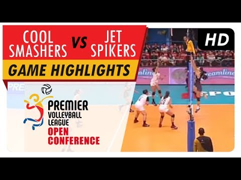 Cool Smashers vs. Jet Spikers | Game Highlights | PVL Open Conference | July 9, 2017