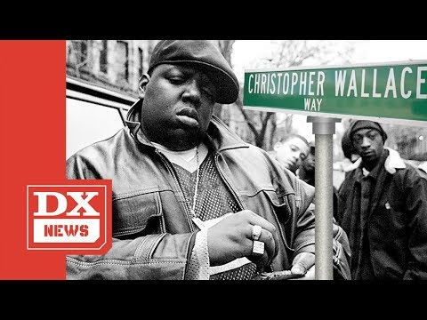 DC - Biggie just got a street named after him in NYC!