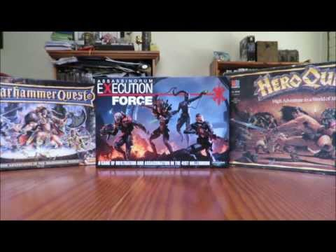 Assassinorum: Execution Force - Cracking Unboxing