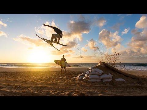 Waimea River Surfing and Powder Skiing Hawaiian Style | Who is JOB 5.0: S4E5