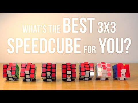 What's the Best 3x3 Speedcube for You?