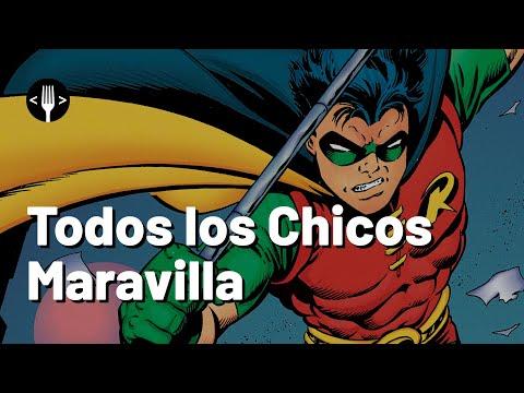 Los Robin que han acompañado a Batman