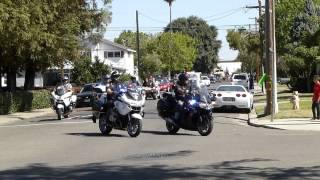 Ripon, CA Police Car Parade - Part 1 of 2