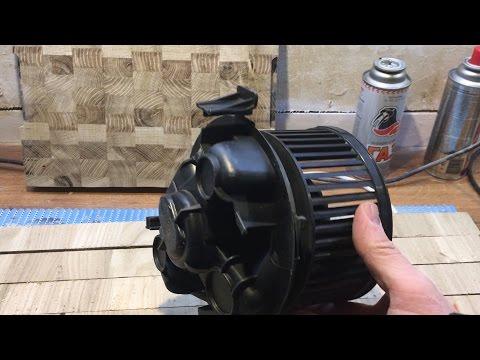 Ремонт мотора печки Renault Logan faza1