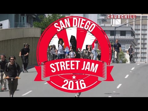 San Diego Street Jam (Hosted by Scooter Farm) - 2016 │ The Vault Pro Scooters