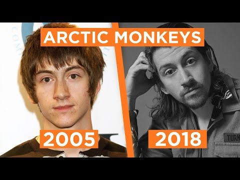 Evolução do Arctic Monkeys