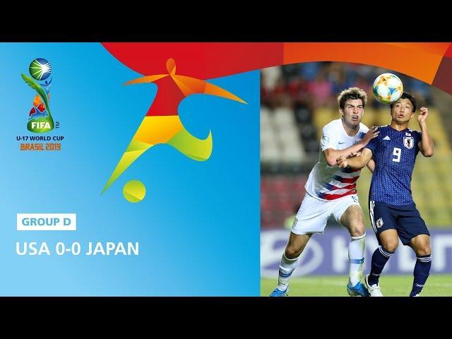 USA v Japan Highlights - FIFA U17 World Cup 2019 ™