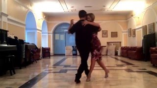 Sebastian Zanchez & Malvina Gili improvisation for The London Tango Boutique