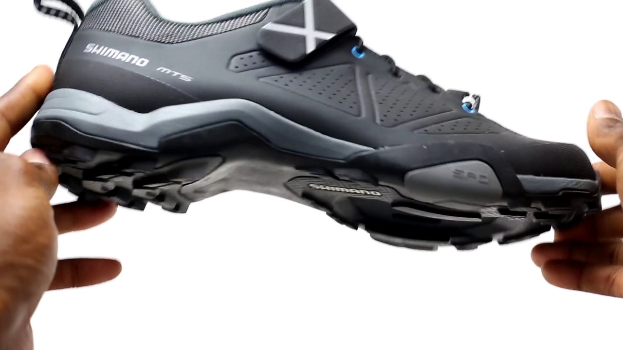 5298ab11f55 Shimano MT5 Mountain Touring Shoes Review by Bikeshoes.com - YouTube