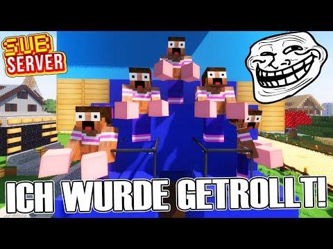 ICH WURDE GETROLLT! - Minecraft SubServer | Earliboy