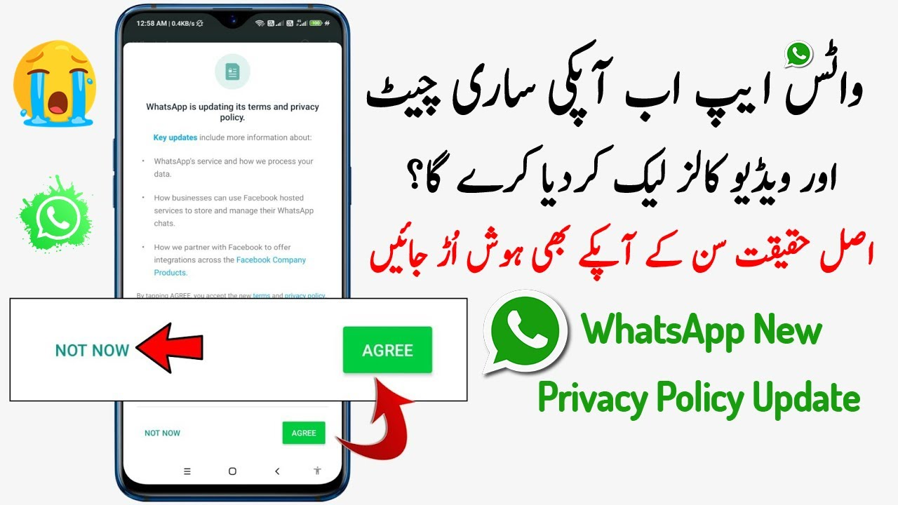 Whatsapp New Privacy Policy Update Reality!!!! - YouTube