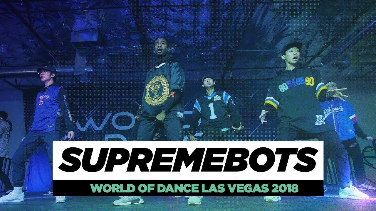 Supremebots Frontrow World Of Dance Las Vegas 2018 Wodvegas18